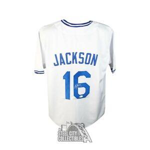 Bo Jackson Autographed Kansas City Royals Custom White Baseball Jersey - BAS COA