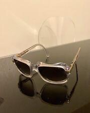 Lunettes Sunglases Cazal 607/3 crystal grey - transparentes verres gris dégradés