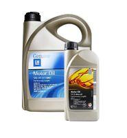 ORIGINAL GM OPEL Motoröl Öl LongLife dexos2 5W-30 93165557 93165554 | 6 Liter
