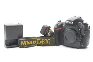 Nikon D810 Digital SLR DSLR Camera (Body Only) Black - With Charger and Battery