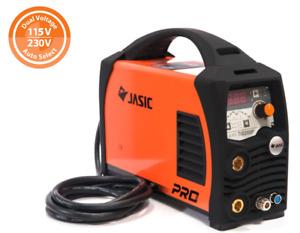 JASIC PRO TIG 200amp Pulse Dual Voltage TIG Welder TORCH EARTH & REG 110 240V