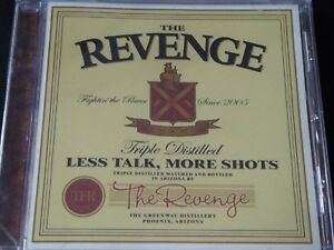 The Revenge - Less Talk, More Shots (SEALED NEW CD 2007) + FREE PUNK ROCK CD