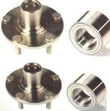 2 FRONT WHEEL HUB & 2 BEARING FOR 1997-2001 HONDA CRV 4WD ONLY FAST SHIPPING