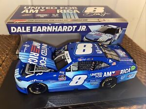2021 dale earnhardt jr united for america camaro lionel 1/24 Diecast From JRM