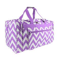 "22"" Purple ChevronPrint  Duffle Bag-NWT"