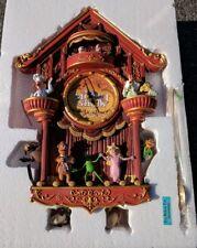 BRADFORD EXCHANGE MUPPETS THE MUPPET SHOW Cuckoo Clock