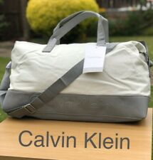 CALVIN KLEIN DUFFLE Holdall Weekend BAG TRAVEL BAG FREE DELIVERY New Sealed!!