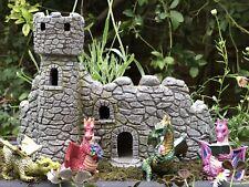 Fiddlehead/Georgetown DRAGON KEEP CASTLE -Fairy Garden - Castle for Dragons & Co