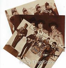 The Beatles Sepia Postcard Set FC3, 6,11 | Ludlow Sales NY | Mint | Un-posted