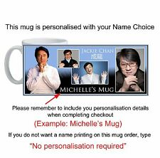 Jackie Chan Mug custom printed with your name unique unusual gift id20110P