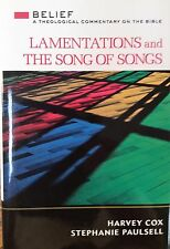 BEIEF THEOLOGICAL COMMENTARY- LAMENTATIONS AND THE SONG OF SONGS
