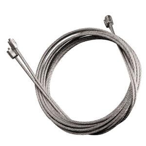 Pair garage door cables wires Henderson Post 1992 Premiere Premier SPARE PARTS