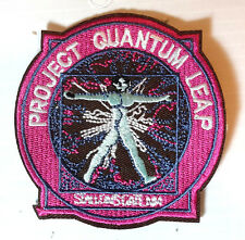 "Quantum Leap Project TV   Logo 3.5"" Embroidered Patch- FREE USA S&H (QLPA-01)"