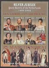 Grenada postfris 2005 MNH sheet - Nederlandse Koningen (XL117)