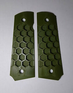1911 Plastic Grips 3D Printed Honeycomb - Multiple Colors