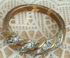 Fashion Jewellery Rings gold Tone with rinestones