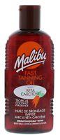 Malibu Fast Tanning Oil Beta Carotene 200ml Tropical Coconut No Sunscreen Sun