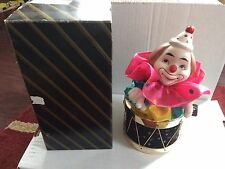 Joiner Limited Edition Animated Music Box Clown Plays It's A Small World