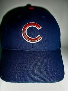 NEW--CHICAGO CUBS HAT--MLB LICENSED--BY NIKE--ADJUSTABLE--EMBROIDERED--REINFORCE