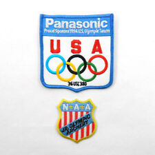 Lot of (2) Different U.S.A. Olympic Sew On Patches