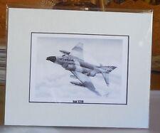 "Robin Olds' F-4C Phantom II ""Scat XXVII"" 8X10 Matted Art Print by Willie Jones"
