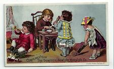 Vintage Trade Card. Compliments of The Domestic Sewing Machine Co.  (BI#BX77)