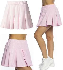 Adidas Originals  Womens Pleated Skirt Wonder Gym Tennis Skirt Sports Skirt Pink