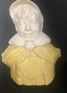 McCoy Cookie Boy 1940's Cookie Jar - Rare