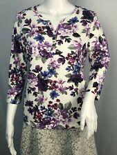 Karen Scott Women's Floral T Shirt