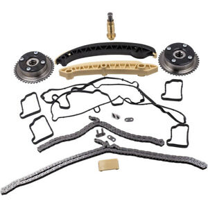 Timing Chain Kit & Valve Cover Gasket For Mercedes C230 W203 M271 1.8L Camshaft