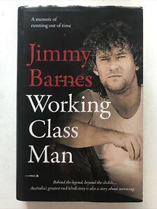 Working Class Man Jimmy Barnes SIGNED Hardback Dust Jacket 2017 1st Edition