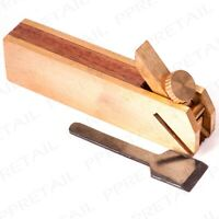 SMALL PRECISION Brass Bull Nose Plane Hobby/Model Detailed Wood Work Door Tool