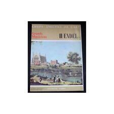 CHEFS-D'OEUVRE DE L'ART n°59 HAENDEL illustrations Janvier 1969 Hachette FABBRI