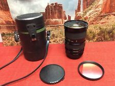 SOLIGOR 35-105mm f/3.5 MACRO Zoom Lens,  Case, 72mm Sky Filter, Canon FD - Clear
