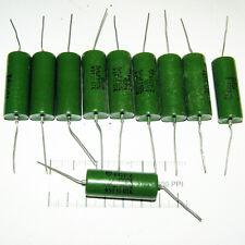 10 x 1000V 1kV / 0.1uF .1uF 100nf . K42Y-2 / K42U2 . PIO PAPER CAPACITORS.