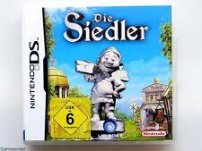 DIE SIEDLER  o  °Nintendo Ds / Dsi / 3Ds / XL / New 3Ds / 2Ds Spiel°+