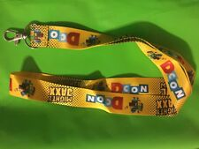 DESIGNER CON 2017 DCON 2017 EXCLUSIVE PROMO LANYARD ONLY GIVEN WITH TICKET
