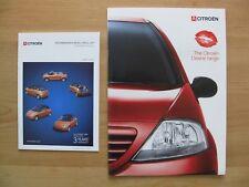 Citroen Desire Range UK Sales Brochure (2003); Saxo, C3, Xsara & Picasso