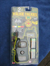 Military Walkie Talkies with Morse Code 200 Toy Ages 5+ - New & Factory Sealed!