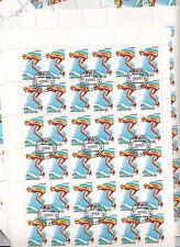 CCCP URSS 26 feuilles Sports Natation   32 k 1981