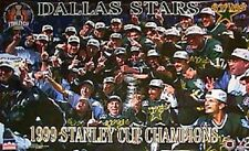 1999 Dallas Stars Stanley Cup Champs Team Shot Original Starline Poster OOP