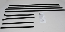 1968-1969 Ford Fairlane 2 Door Hard Top Repops Window Felt Weatherstrip Kit 8pc