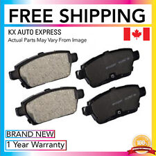 FRONT & REAR CERAMIC BRAKE PADS FOR FORD FUSION 06 07 2008 2009 2010 2011 2012