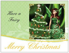 20 CHRISTMAS Angel FAIRY Tree Greeting POSTCARDS Post Cards PRINTED US OR CANADA