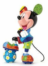 Disney by Britto Mickey Mouse Football Statue Figure NEW in Gift box