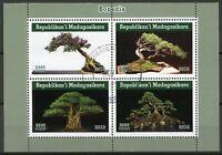 Madagascar Trees Stamps 2019 CTO Bonsais Bonsai Tree Nature 4v M/S II