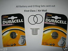 Dual Duracell battery Kit for Oceanic Veo 1-3 and VT Pro dive computers + grease
