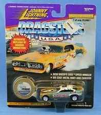 Johnny Lightning Dragsters Wonder Wagon 1-01993 Series 1 of 20,000 MOC Gold 1997