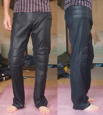 Steampunk! Vintage! Jean Paul Gaultier Homme Men's Padded Pant 48 Shiny Black