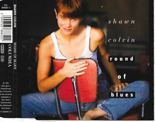 SHAWN COLVIN - Round of blues CD SINGLE 3TR Europe 1992 (Columbia)